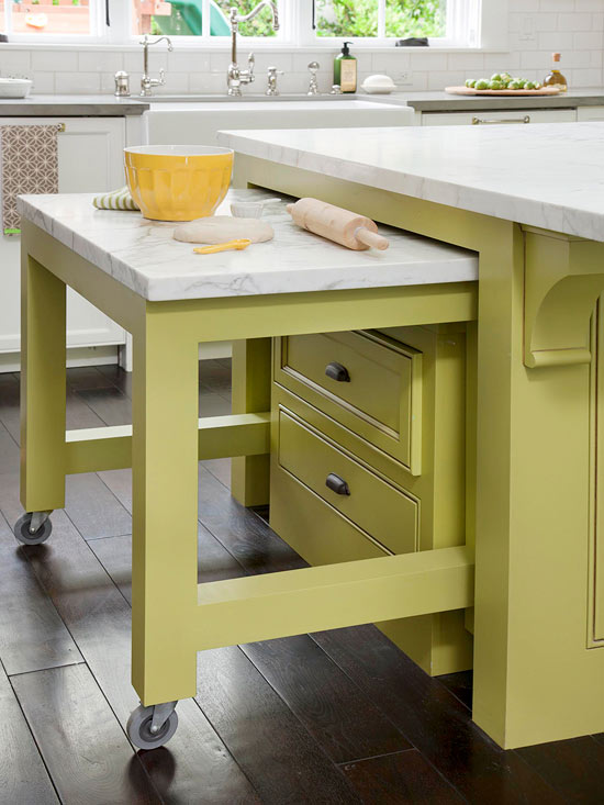 10 Tucked Away Kitchen Counter