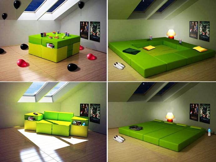14. Modular Multi Purpose Furniture