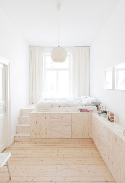 7. Platform Bed With Built In Drawers