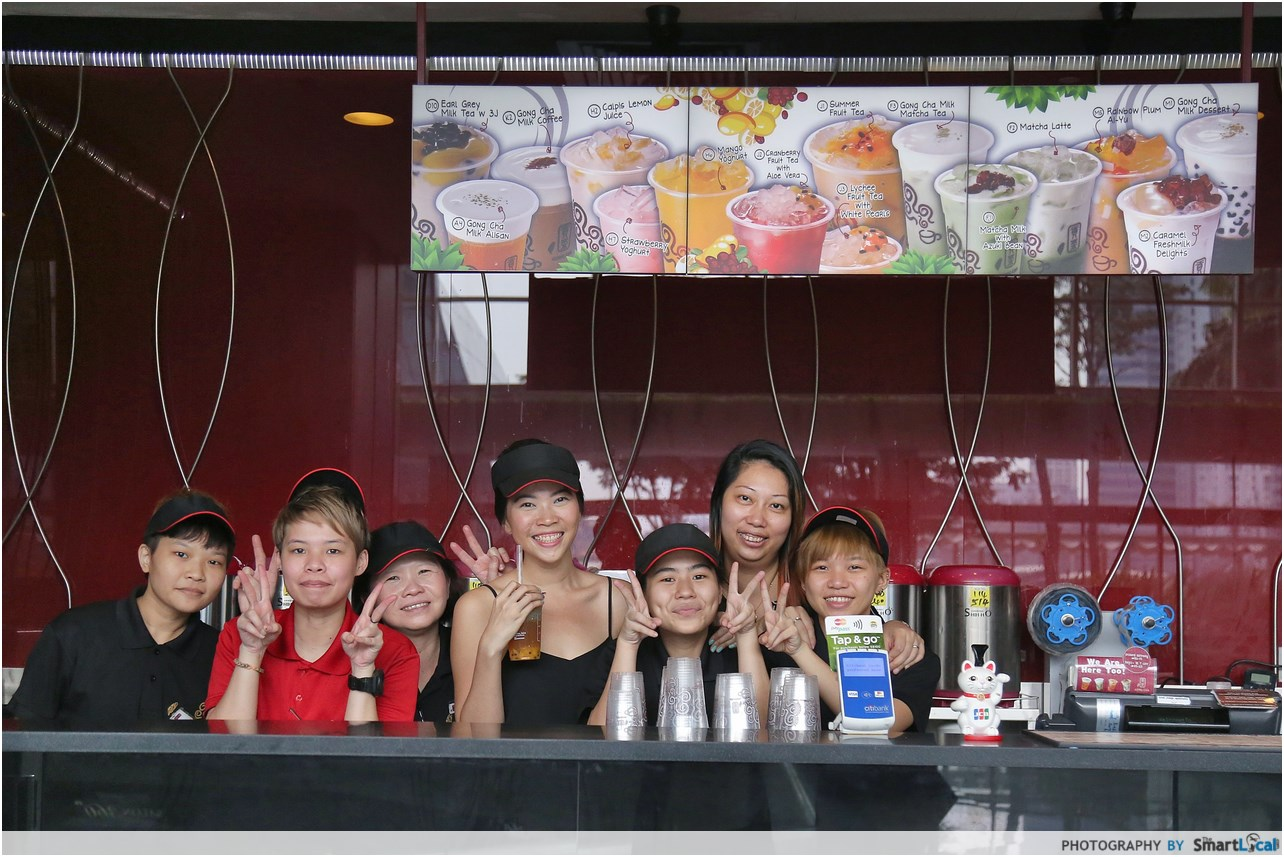 I Was Gong Cha Girl For A Day Here Are 10 Things Learnt Process Flow Diagram Yogurt 2 Color Coded Employees