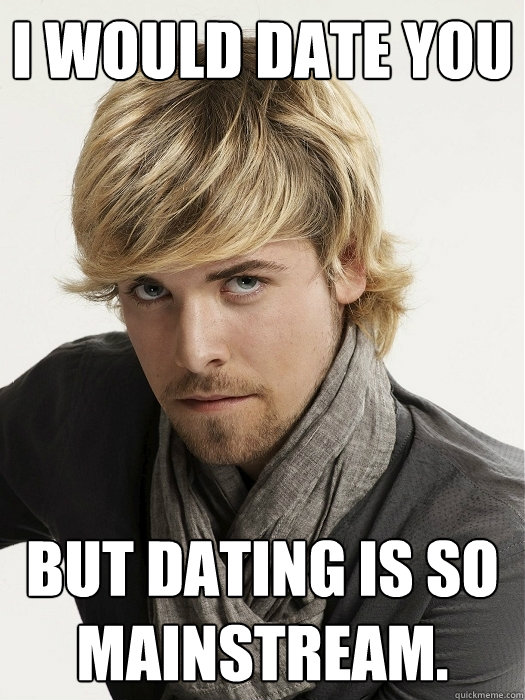 dating a hipster guy