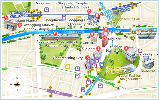 How-to Guide to Shopping In Seoul, Korea - 7 Must Visit Shopping ...