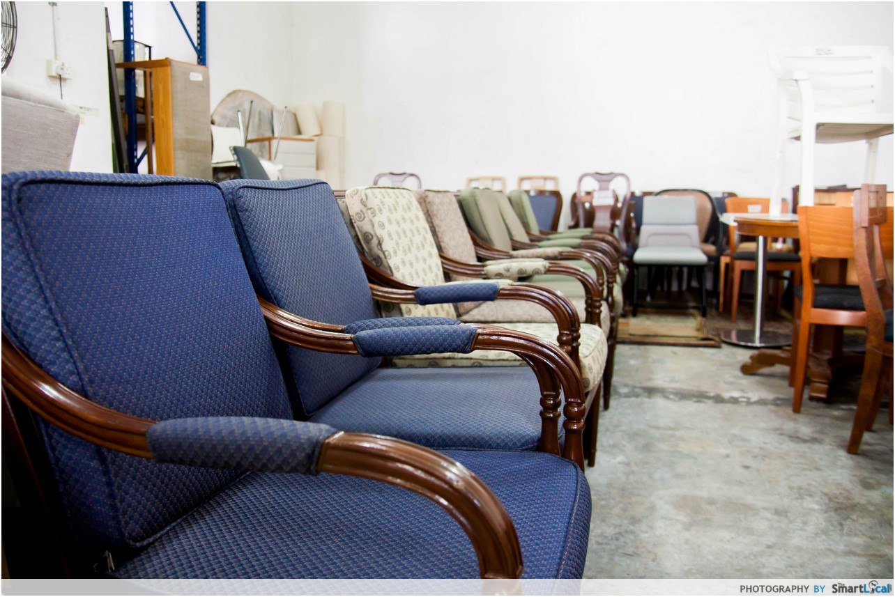 12 undiscovered second hand furniture shops in singapore for Second hand furniture