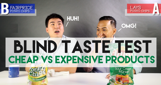 Blind Taste Test - Home Brands Vs. Expensive Brands. The Results Will Shock You. Singaporeans Try: Episode 20