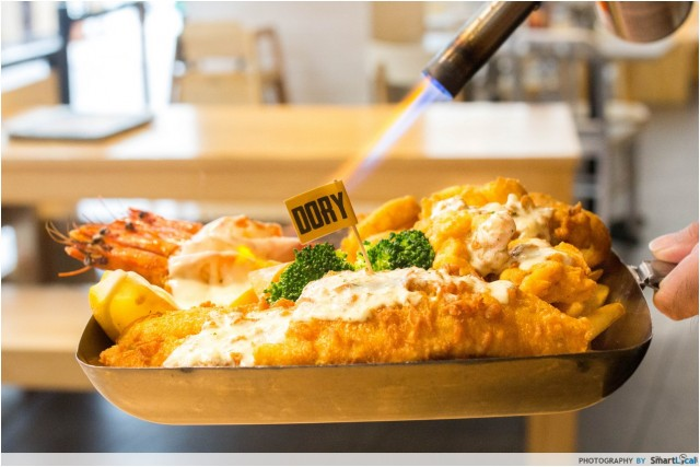 10 Dishes To Try At The Manhattan FISH MARKET Other Than Fish And Chips