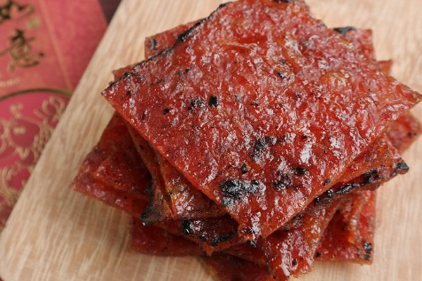 Singapore Hawker Recreations - Bak Kwa