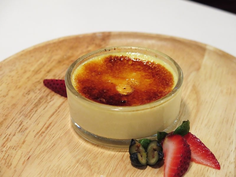 Singapore Hawker Recreations - Durian Creme Brulee