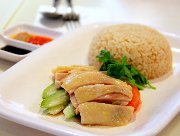 Singapore Hawker Recreations - Hainanese Chicken Rice