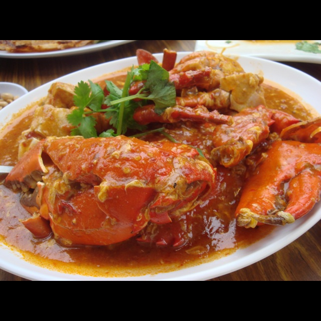 Singapore Hawker Recreations - Chilli Crab