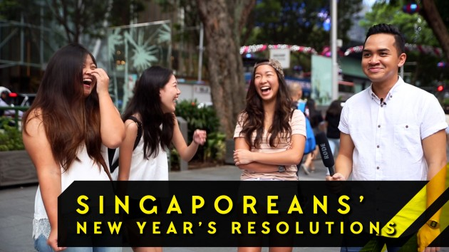 We Hit Orchard Road To Find Out What YOU Want For 2016 - Word On The Street: Episode 1