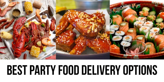 15 Party Food Delivery Options That Are Not Pizza Or Fast Food