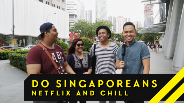 Do Singaporeans actually Netflix And Chill? We Ask Orchard Road - Word On The Street: Episode 2
