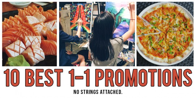 9 Best 1-for-1 Promotions In Singapore - No App, No Card, No Strings Attached