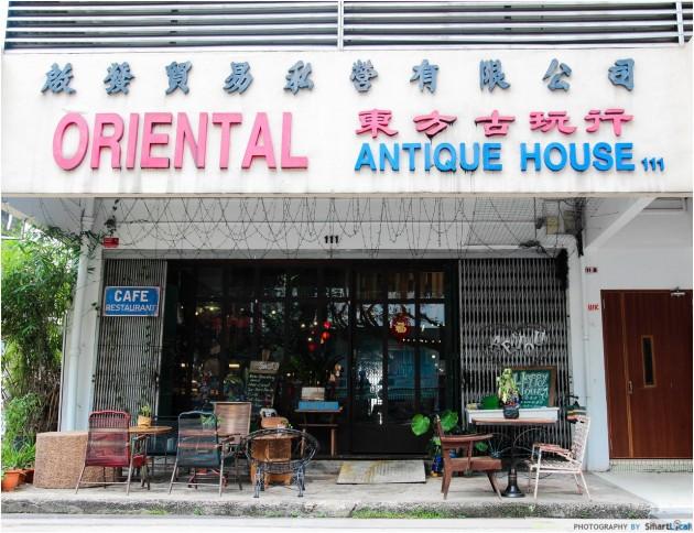 AEIOU Café Review – A Gorgeous Quaint Cafe EXISTS Inside This Antique House