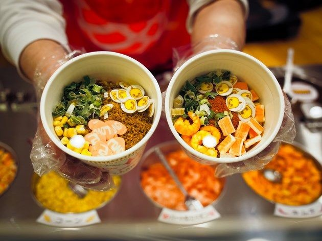 customize your own cup noodles