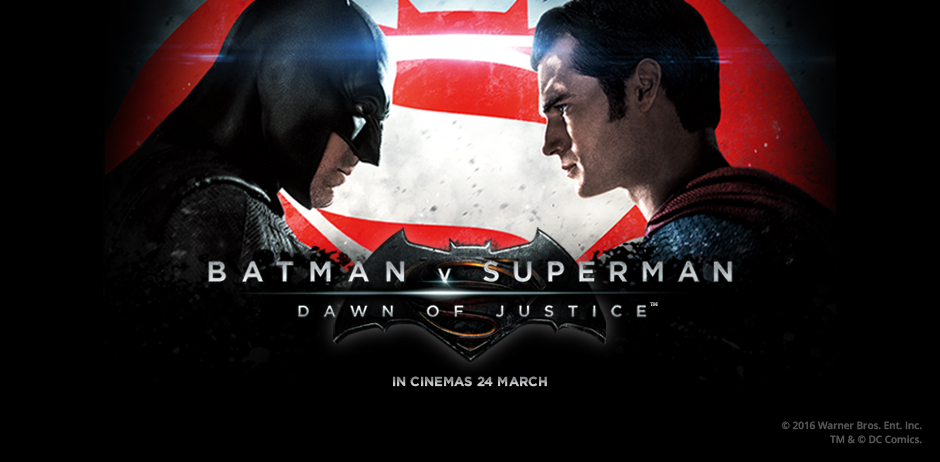 See Superman And Batman In The Flesh