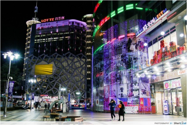 The Smart Local - Migloire at Dongdaemun Design Plaza entrance