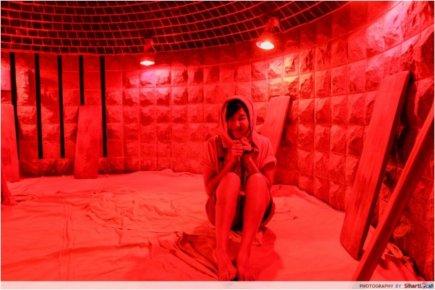 The Smart Local - Kimberly experiences Jjimjilbang fire based sauna room