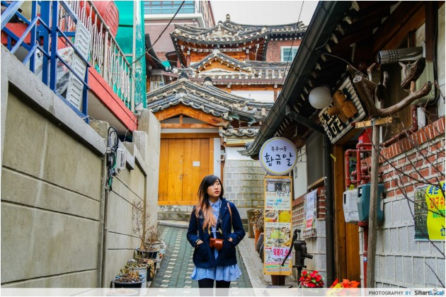 The Smart Local - Kimberly exploring the Bukchon Hanok Village