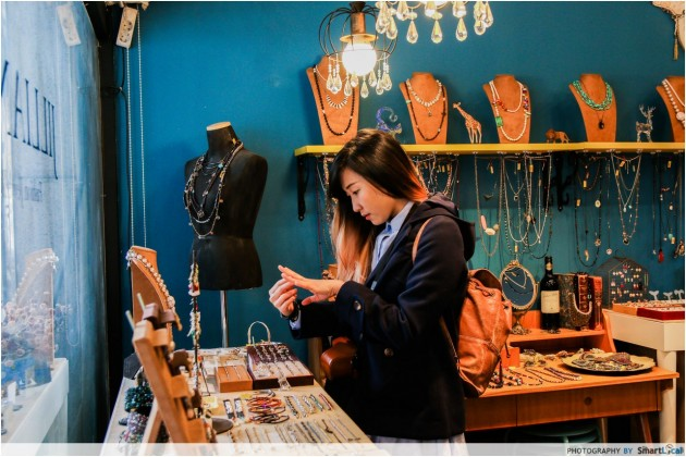 The Smart Local - Kimberly at Bukchon Hanok Village jewelry shop
