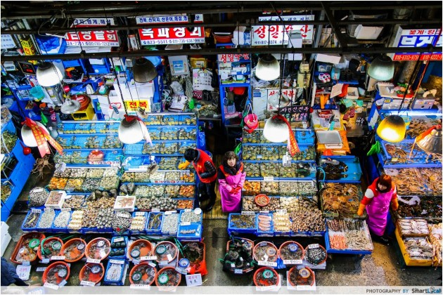 The Smart Local - Noryangjin Fish Market aerial view