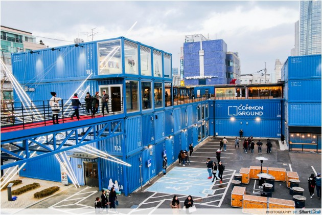 The Smart Local - Largest pop up container shopping mall in the world called Common Ground