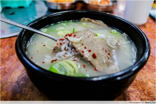 The Smart Local - Seolleongtang soup at Imun Seolleongtang Korea
