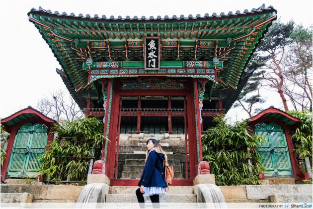 The Smart Local - Kimberly at Changdeokgung Palace Juhapru Pavilion