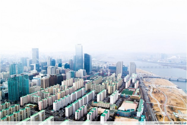 The Smart Local - View from 63 Tower in Yeouido Island