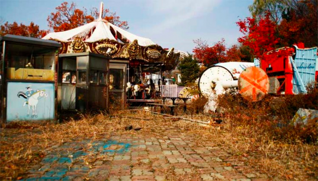 The Smart Local - Yongma Land, empty carousel