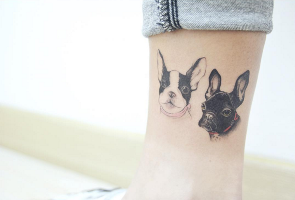 The Smart Local - Pug tattoo