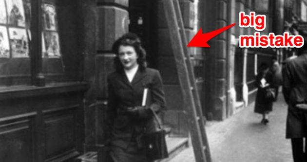 Image result for walk under a ladder