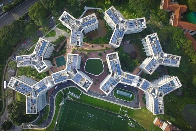15 Famous Singapore Locations From Above That Are Unlike