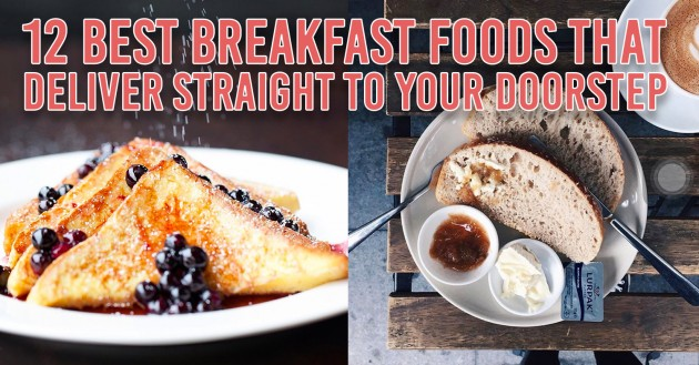 12 Breakfast Foods That Deliver So You Won't Have To Wake Up Early To Make Breakfast