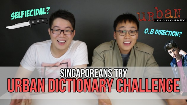 We Guessed What Millennial Slangs On Urban Dictionary Mean - Singaporeans Try: Episode 45