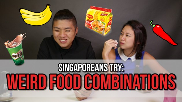 We Ate Milo + Curry Maggi Mee So You Won't Have To. Here's What Went Down - Singaporeans Try: Episode 46