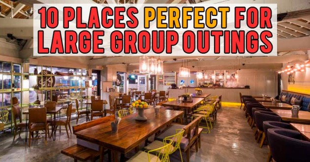 10 Large Tabled Cafes In Singapore For Friends Arrowed To