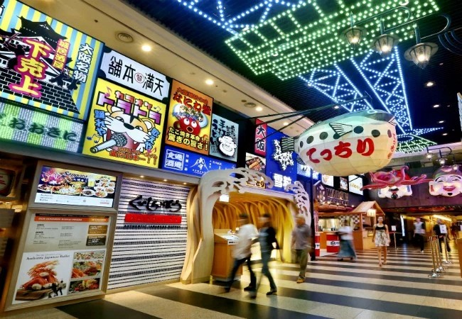 Japanese Activities In Singapore - Japan Food Street Jurong Point Boon Lay
