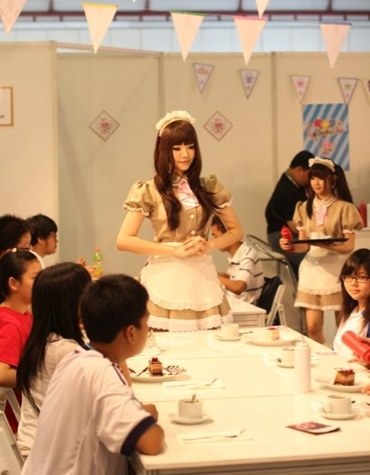 Japanese Activities In Singapore - Maid Cafe