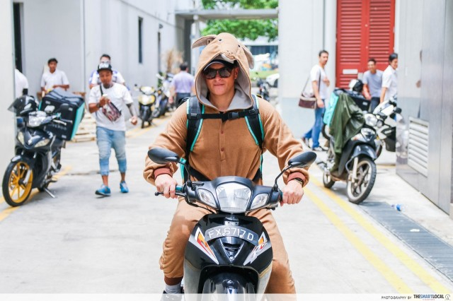 The Life Of Deliveroo's GM - Why The Big Boss Wears A Kangaroo Onesie To Work
