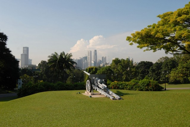 The Istana Cannon