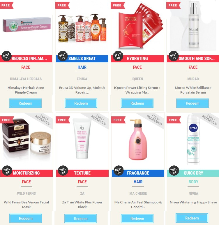 Save Money In Singapore - Sample Store Free Beauty Products