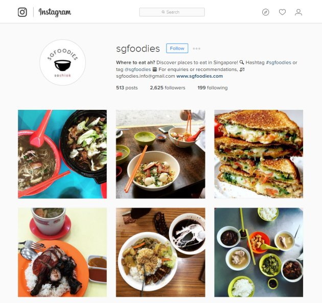 10 singapore instagrammers with foodporn feeds that will make you 9 sgfoodies sgfoodies forumfinder Choice Image