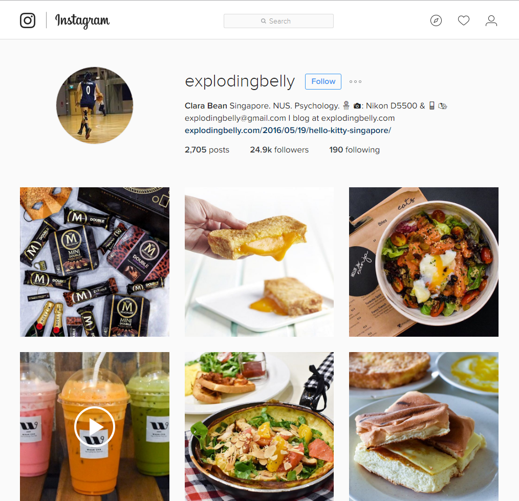 10 singapore instagrammers with foodporn feeds that will make you heres another one of those classic inspirations born to bust the myth that its only a matter of time before your love for food will inevitably add a few forumfinder Images