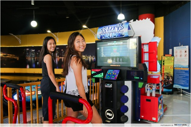 timezone arcade dance battle
