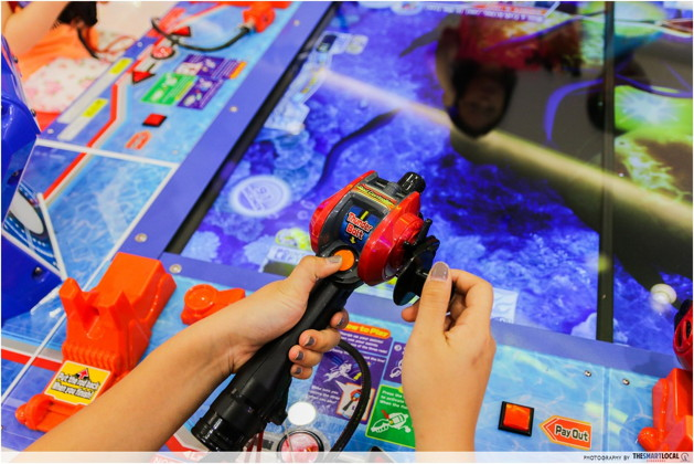 timezone arcade fishing game