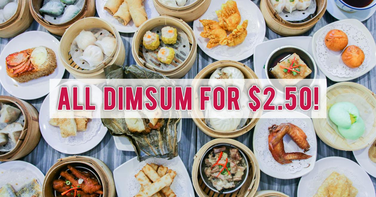 Bao Today - All Dim Sum Now Priced At $2.50 To Celebrate Their 10th Anniversary