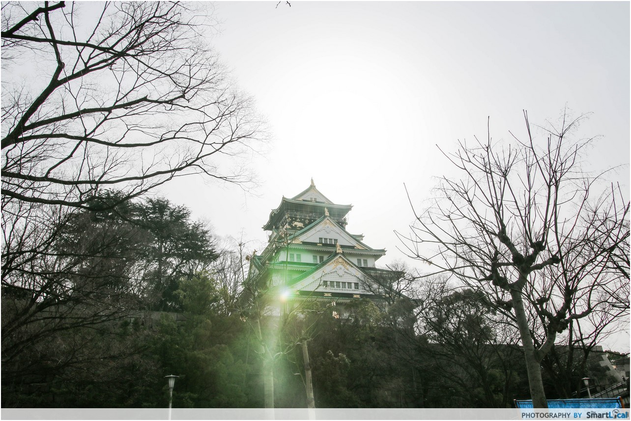 The Smart Local - Osaka Castle view