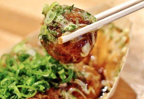 The Smart Local - Macro shot of a Takoyaki from Acchichi Takoyaki