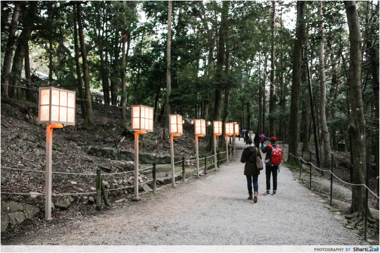 The Smart Local - Lanterns at Kasuga Taisha Shrine